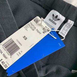 adidas Pants - 📸 NEW Adidas Trefoil Tights - Size XS